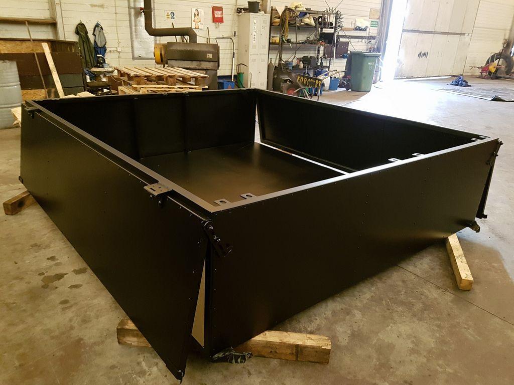caja de palets