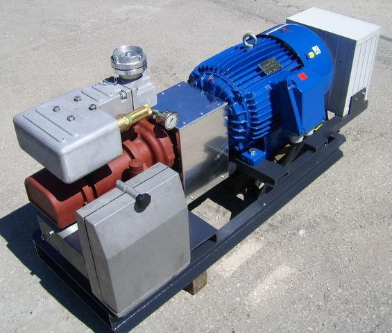 compresor neumático para CG80 GHH RAND z silnikiem elektrycznym cisterna semirremolque