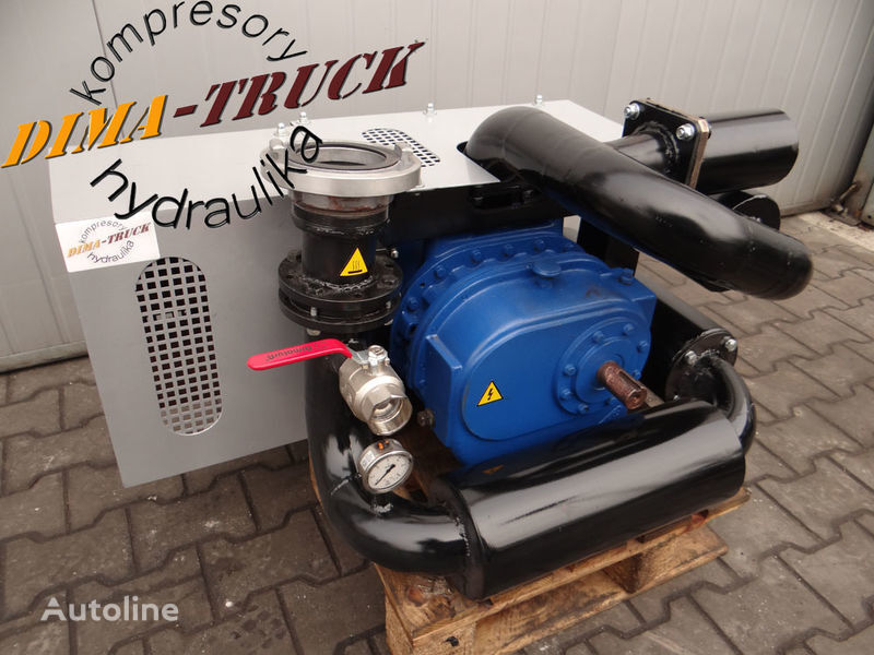 kompresor paszowy paszowóz gardner denver compresor neumático para animal feed compressor camión nuevo