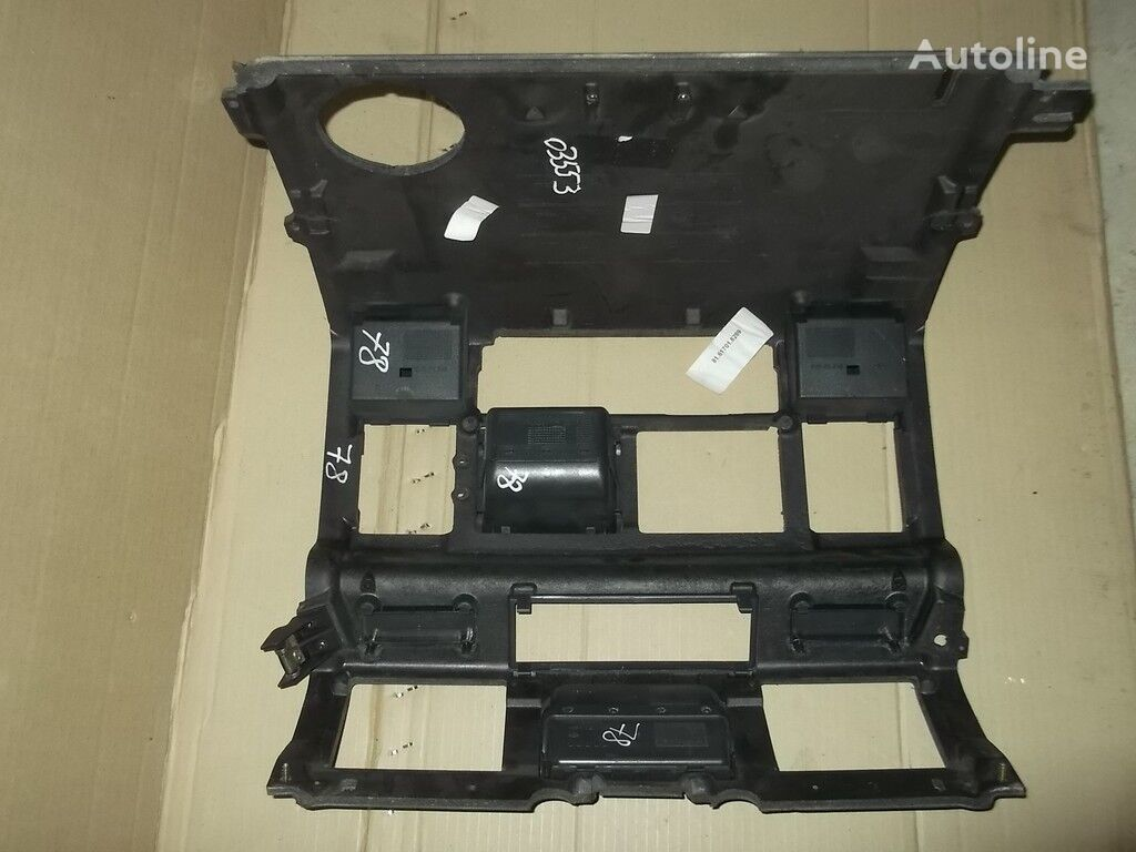 Instrumentalnaya panel MAN cuadro de instrumentos para camión