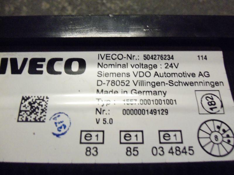 IVECO EURO5 instrument panel cluster 504276234, 504226363, 504025358, 504156164, 504156187 cuadro de instrumentos para IVECO Stralis tractora