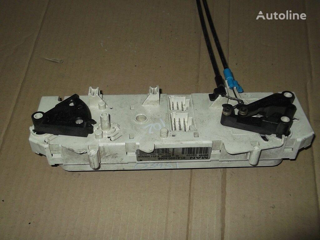 Blok upravleniem pechkoy i kondicionerom cuadro de instrumentos para MAN camión