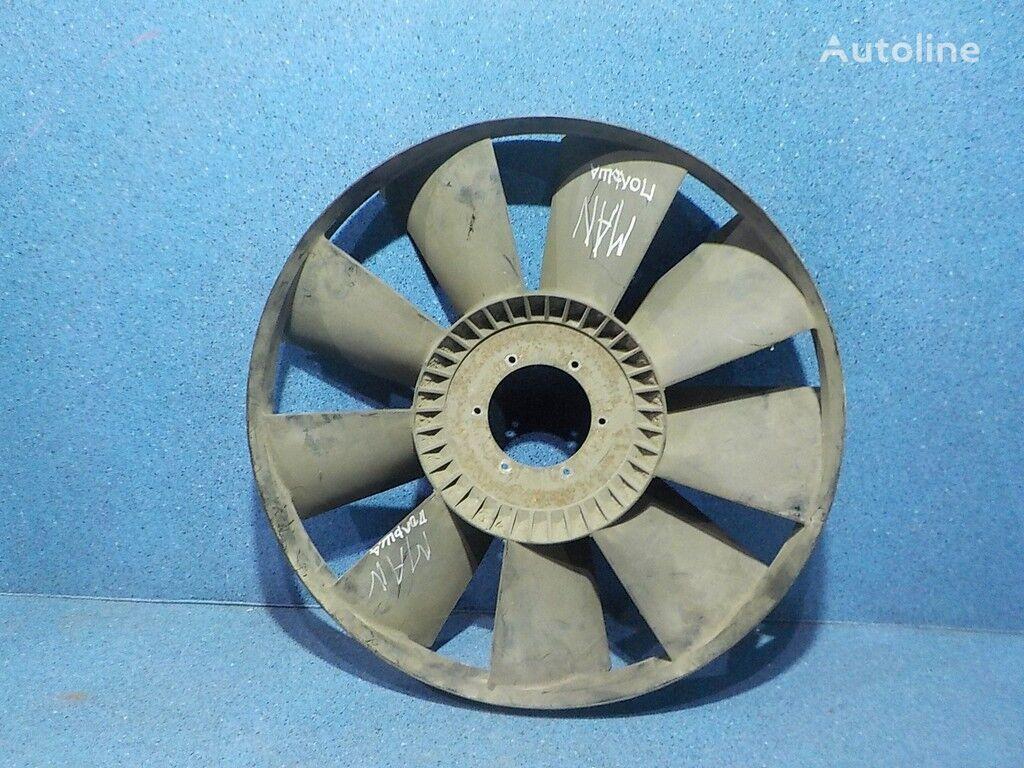 Krylchatka ventilyatora dvigatelya MAN cubierta del ventilador para camión