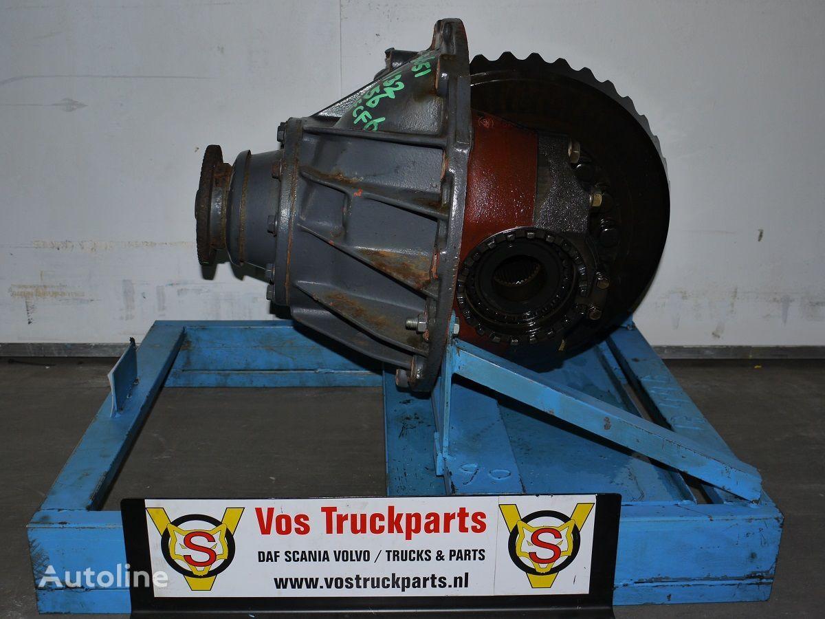 diferencial para DAF 1132-4.56 EXCL. SPER tractora