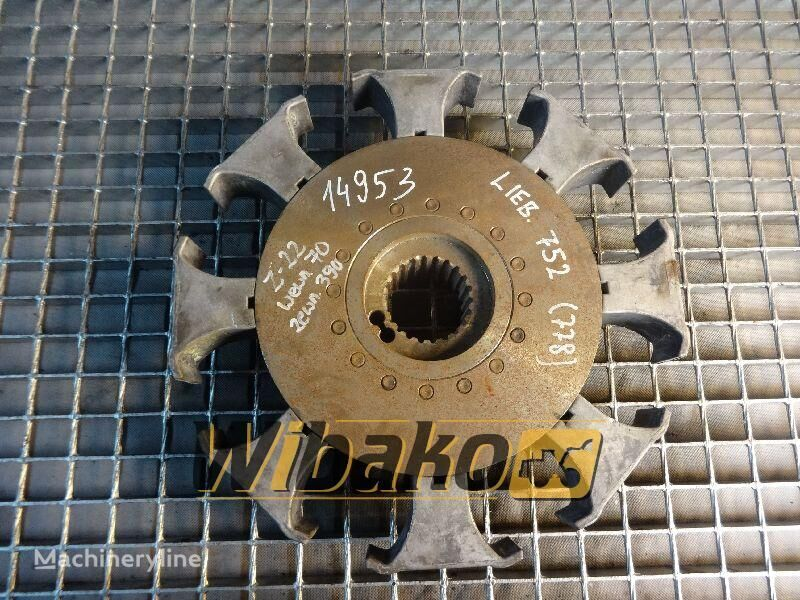 Coupling Liebherr 752 disco de embrague para 752 (22/70/390) otros maquinaria de construcción
