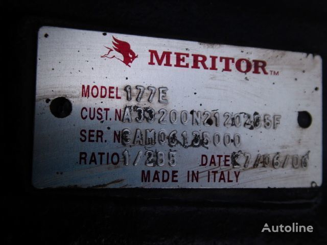 Meritor 177E,2.85 eje motriz para IVECO Cursor tractora