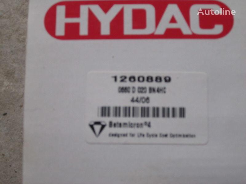 Nimechchina Hydac 1260889 filtro hidráulico para excavadora nuevo