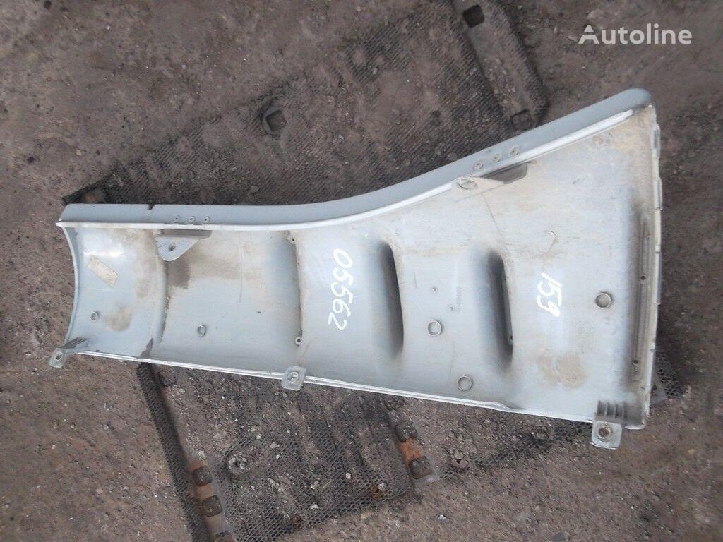 Vozduhozabornik naruzhnyy levyy (na kabinu) guardabarro para IVECO camión