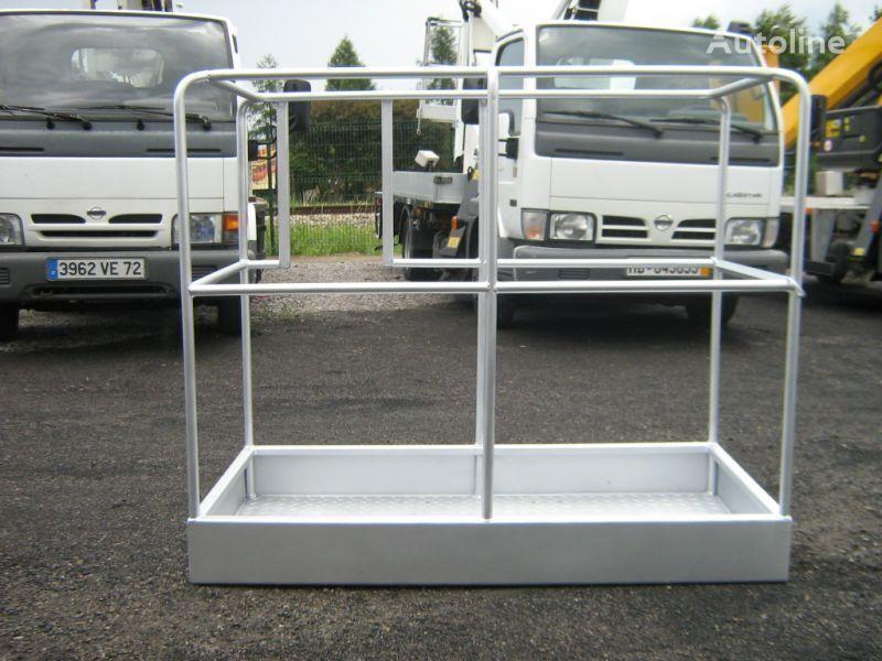 mástil de cargador para NISSAN Cabstar kosz do podnośnika zwyżki stalowy aluminiowy laminowany  plataforma aérea nuevo