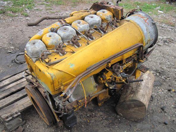 Deutz BF6L913 motor para excavadora
