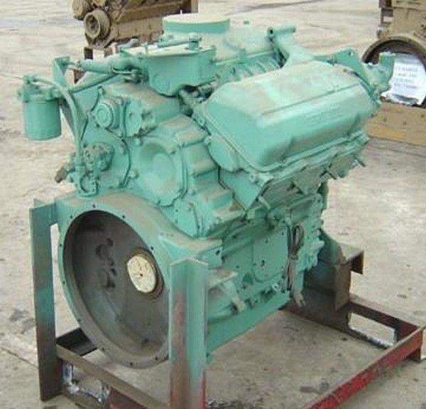 motor para Detroit 6V53 otros maquinaria de construcción