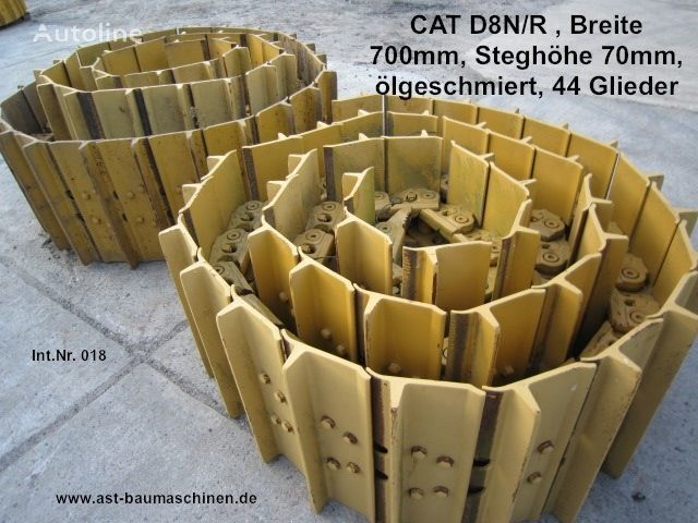 Caterpillar Kette mit Bodenplatten, used oruga de caucho para CATERPILLAR D8N/R bulldozer
