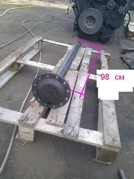 reduktora ZF pravaya dlina 104 sm palier para VAN HOOL autobús