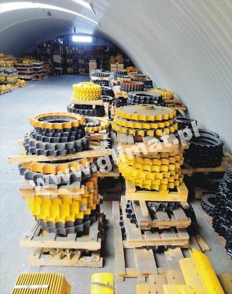 piñón para HANOMAG D600 maquinaria de construcción nuevo