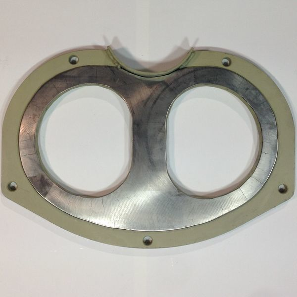 Germaniya Putzmeister placa de gafas para PUTZMEISTER BSA1005 bomba de hormigón estacionaria nueva