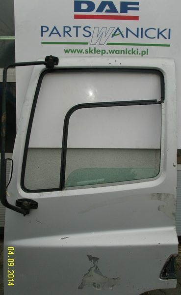 DAF DRZWI KIEROWCY LEWE SZYBA+PODNOŚNIK puerta para DAF tractora