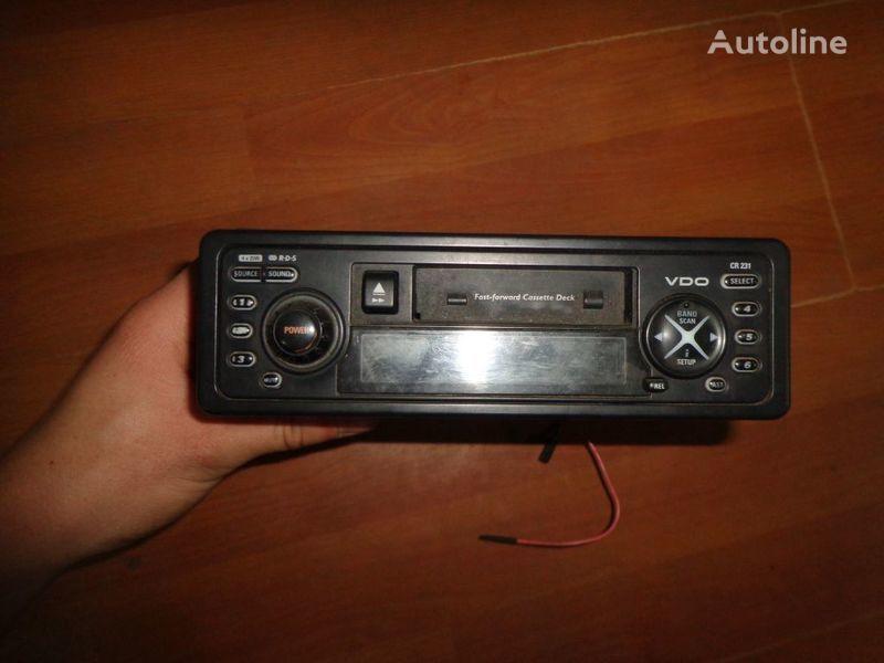 VDO CR231 12V radio del coche para camión