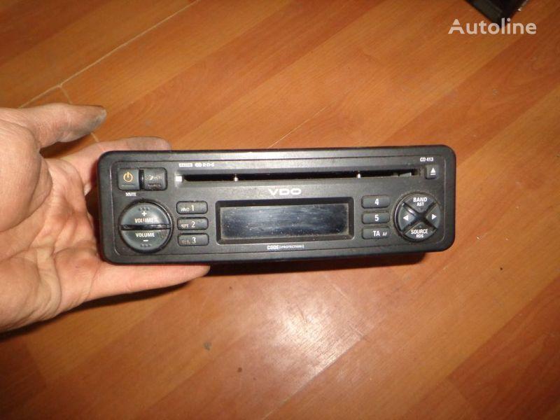 VDO CD413. 12V. CD. radio del coche para camión