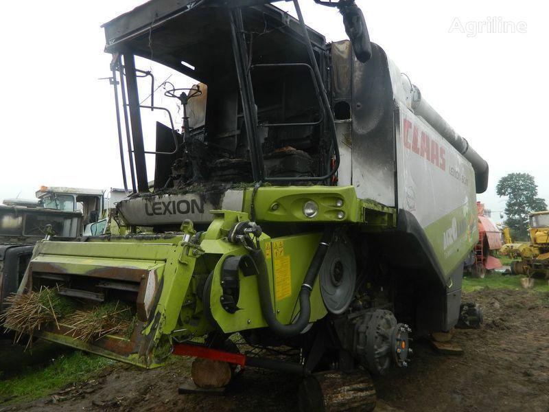 b/u zapchasti/ used spare parts recambios para CLAAS LEXION 600 cosechadora después del accidente
