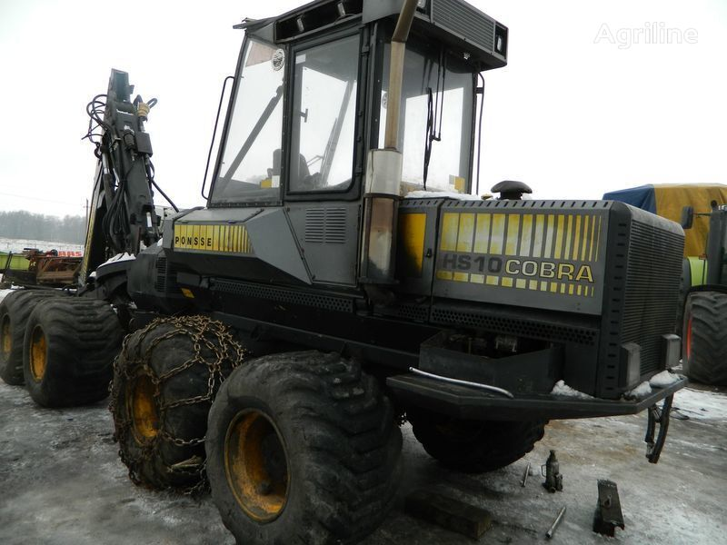 b/u zapchasti/ used spare parts recambios para PONSSE COBRA HS10 procesadora forestal
