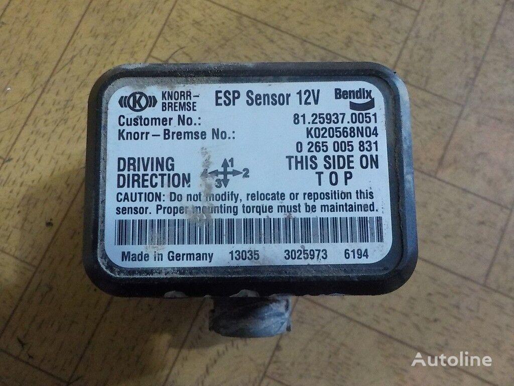 Sensor,datchik ESP sensor para MAN camión