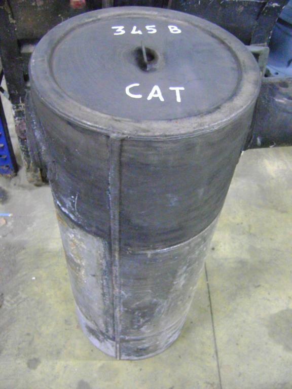 silenciador para CATERPILLAR 345 B excavadora