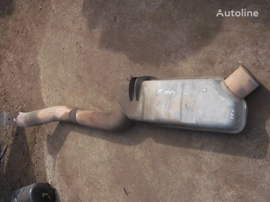 Vypusknaya truba glushitelya tubo de escape para SCANIA camión