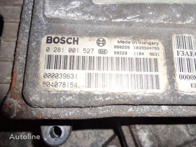 IVECO Euro3 engine control unit ECU EDC, BOSCH 0281001527 unidad de control para IVECO Stralis tractora