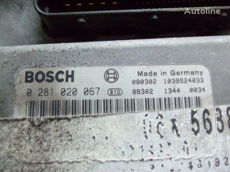MAN TGA, TGX, engine computer EDC 480PS D2676LF05 ECU BOSH 0281020067 EURO4, 51258037544, 51258037563, 51258037834, 51258037674, 51258337008, 0281020067 unidad de control para MAN TGX tractora