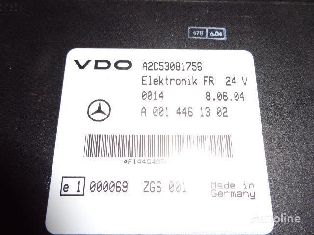 Mercedes Benz Actros MP2, MP3, MP4, FR control unit ECU 0014461302, 0004465502, 0004466602, 0014461002, 0014461302, 0014461502, 0014461102, 0014464302, 0024460202, 0024463202, 0024461302, 0024462902, 0024463402, 0034463502, 0024463402, 0034463502, 0024465002 unidad de control para MERCEDES-BENZ Actros tractora