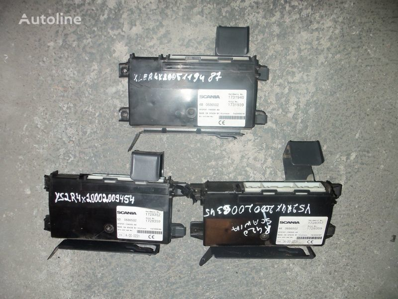 Scania R series RCL control unit (AECU ASSY) 1731940, 1731939, 1728359, 139365, 1731939, 1539372, 1539372 unidad de control para SCANIA R series tractora