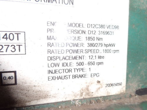 VOLVO D12C 380 HP engine computer EDC 20365050 ECU, 3169631, 3161952, 20412506, 3161962, 20577131, 20582958, 85111405, 85107712, 85103340, 3099133, 8500011, 85000086, 85000388, 85000846, 8113577, 85111405, 8113577, 3099133 unidad de control para VOLVO FH12 camión