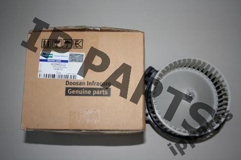 ventilador de refrigeración para DOOSAN wentylator 2538-6015 K1040112 nawiew excavadora