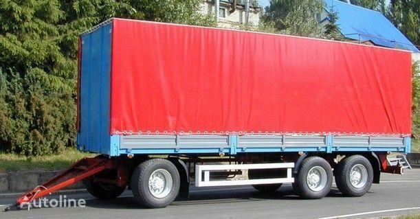 KAMAZ SZAP-83053 remolque caja abierta nuevo