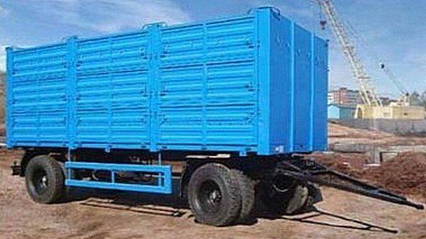 KAMAZ SZAP-8357-02/030 remolque caja abierta nuevo