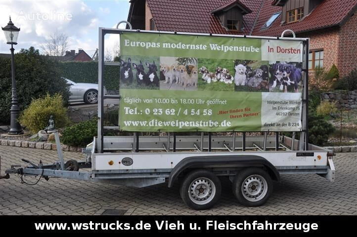 BöCKMANN Werbeanhänger  remolque plataforma