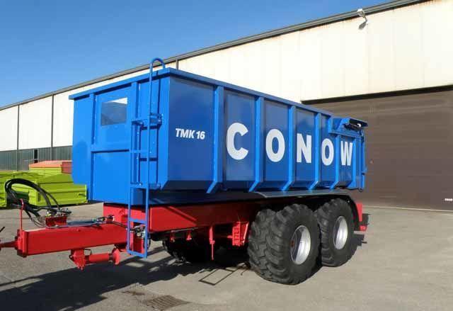 CONOW Tandem-Dreiseitenkipper (TMK 16) remolque transporte de granos nuevo
