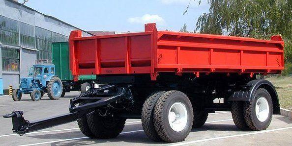 KAMAZ SZAP-8543 remolque volquete nuevo