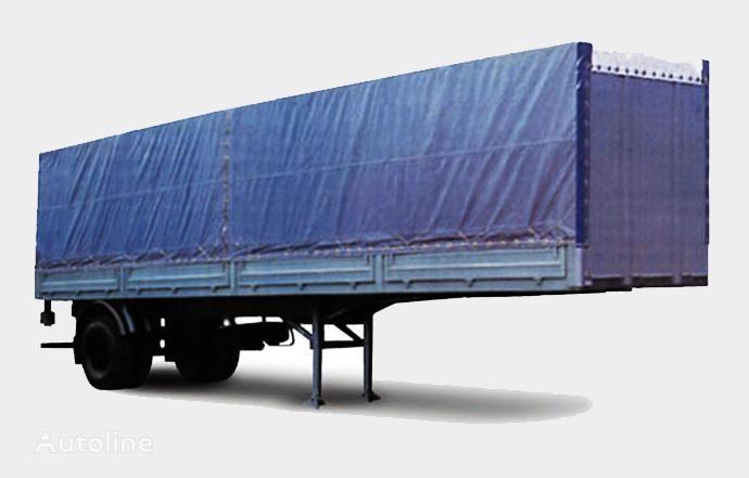 MAZ 938020 semirremolque caja abierta nuevo