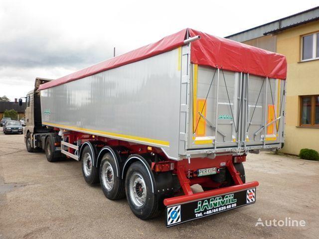 JANMIL 50 cbm ALU, SAF -LIGHT 5800 kg !!! semirremolque volquete nuevo