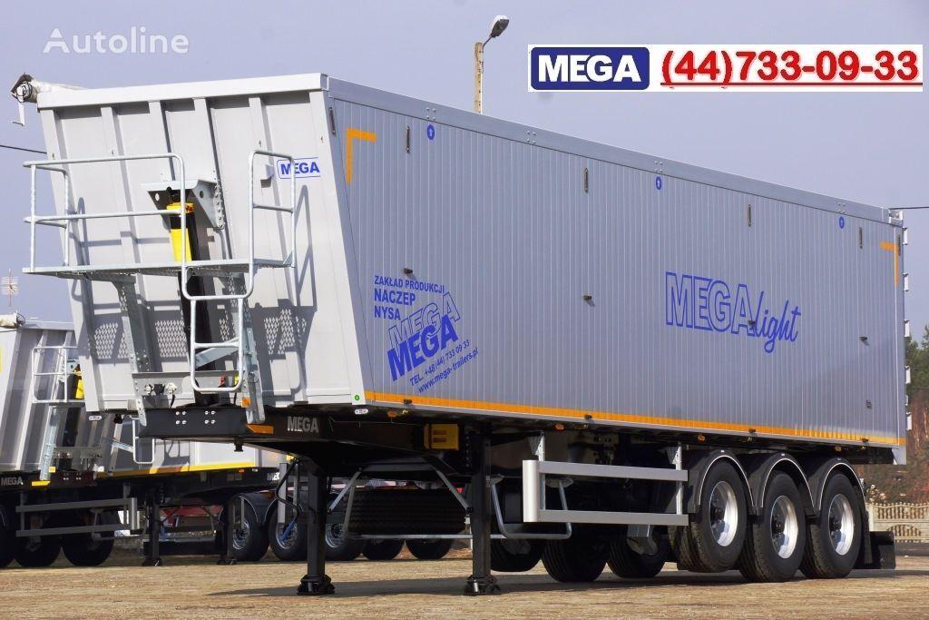 MEGA 10,4 m / 55 M³ ALUM TIPPER