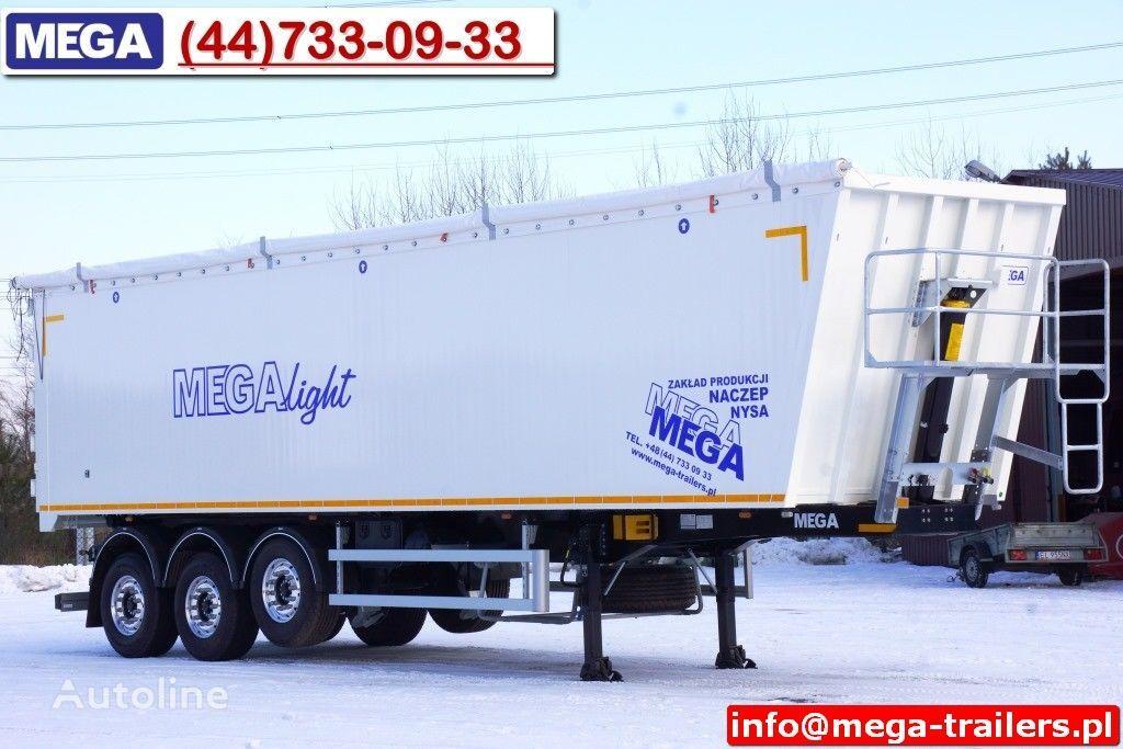 MEGA 10,4 m / 60 M³ ALUM TIPPER SUPER LIGHT 6,2 T ! READY & NEW ! semirremolque volquete nuevo