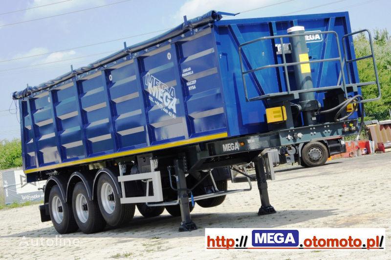 MEGA 2013 SALE !!! 33 M³ STAHL KIPPER MIT KLAPE = FUR Geröll & Bitume semirremolque volquete nuevo
