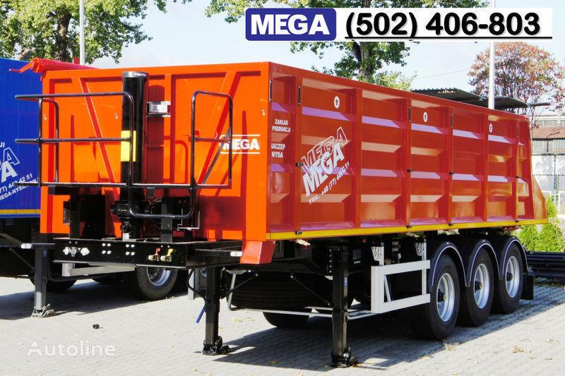 MEGA 28/8360 kcc - camosval 30 kub.m., pama k tyagachu 6x4, klapan! semirremolque volquete nuevo