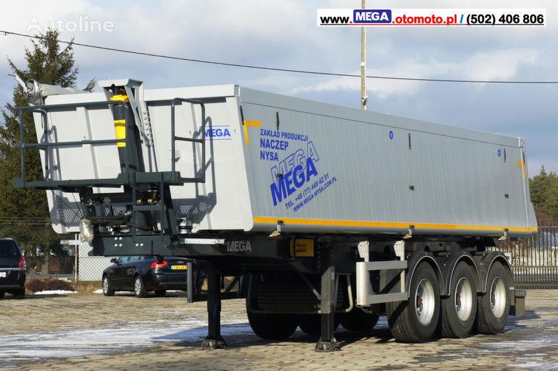 MEGA 30 m³ - SUPER LIGHT - 5,300 KG - SUPER PRICE !!! READY !!! semirremolque volquete nuevo