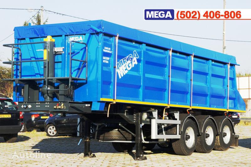 MEGA 35/9200 kcc - camosval 35 kub.m., pama k tyagachu 6x4, klapan! semirremolque volquete nuevo