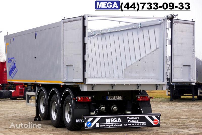 MEGA 39/8360KD- camosval 39 kbm, alyuminievyy, klapan-dverey GOTOV! semirremolque volquete nuevo