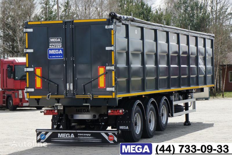 MEGA 55 M³ DOMEX/OPTIM 650 STEEL TIPPER / HATCH-DOOR & GRAINHOLES !! semirremolque volquete nuevo