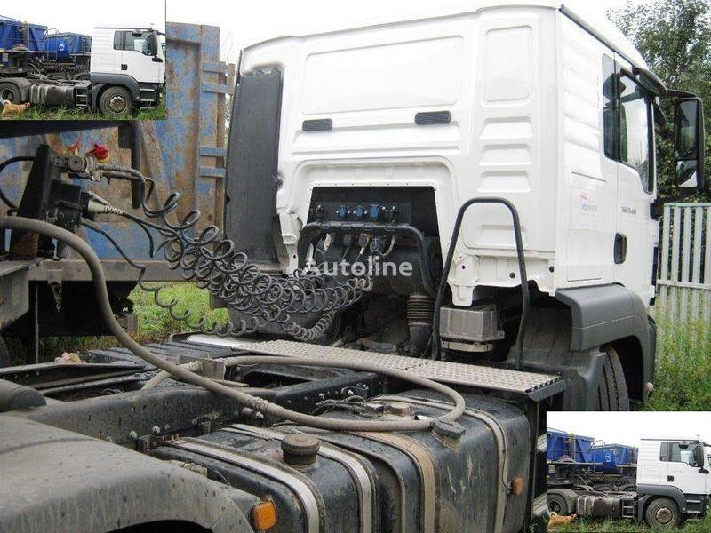 DAF SAMOSVALNAYa SISTEMA HYVA ( Gidravlika na tyagach ) tractora