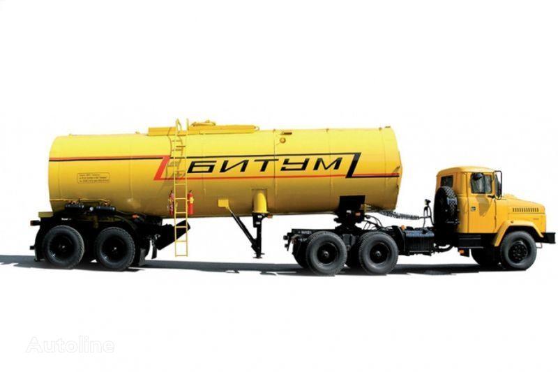 KRAZ Avtobitumovozy 63431 AB-22 i 6443 AB-30,5  tractora + cisterna semirremolque